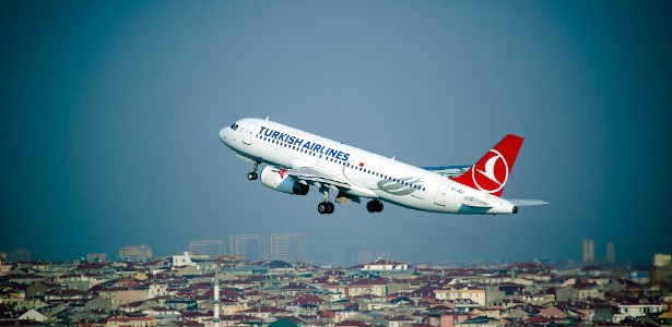 Aeronave Airbus A320 da Turkish Airlines