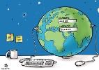 Sabe quanto os ataques cibernéticos custaram aos EUA? US$ 109 bilhões (Foto: Hajjaj/Ad-Dustour/NYT)
