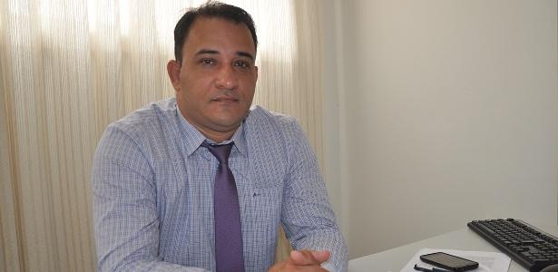 O ex-diretor do presídio de Anápolis Fábio Santos, denunciado pelo MP-GO