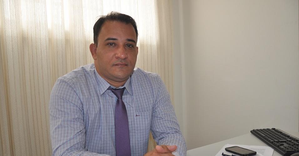12.jan.2018 -- O ex-diretor do presídio de Anápolis, Fábio de Oliveira Santos