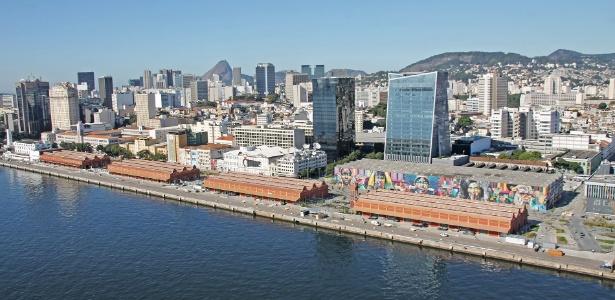 Porto Maravilha, no Rio, está entre novos polos empresariais da cidade -  Bruno Bartholini/Divulgação