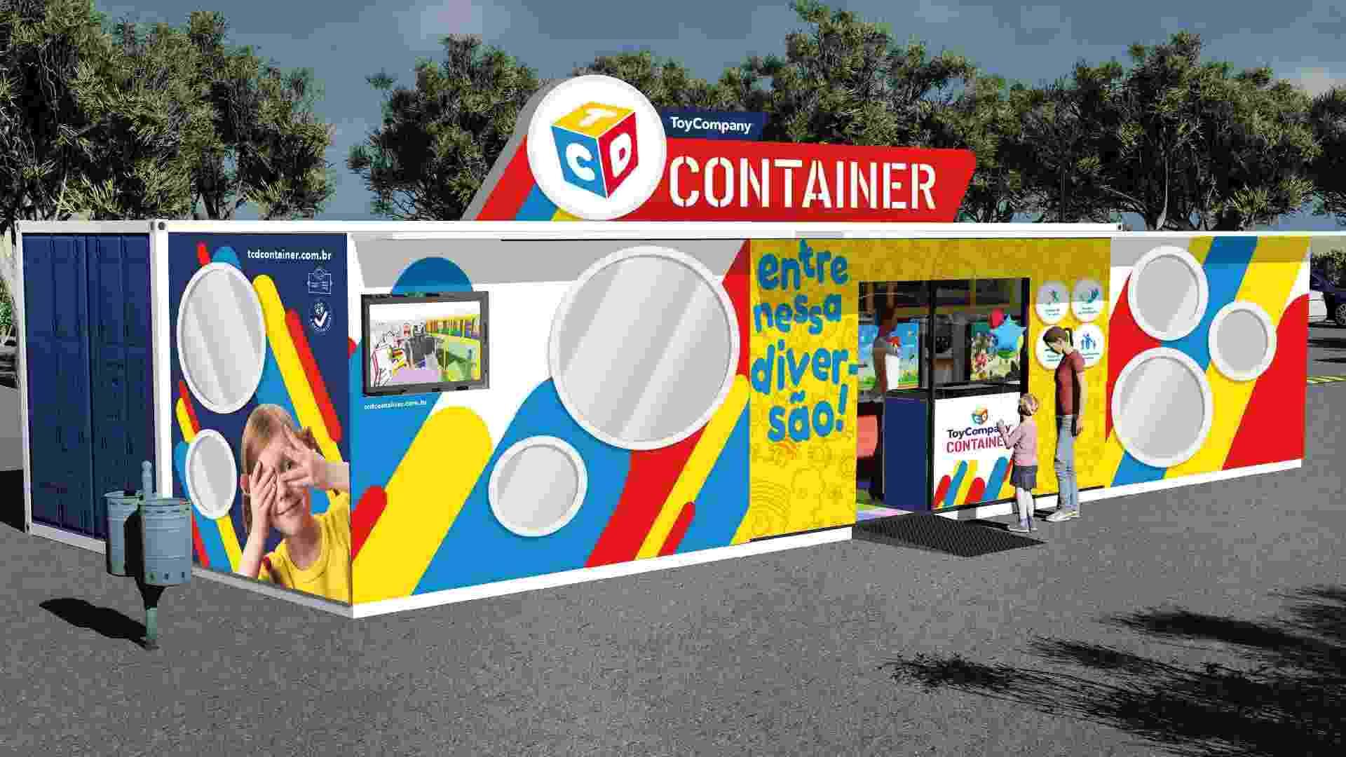 O container é o novo modelo de negócio de franquia da ToyCompany - Divulgação