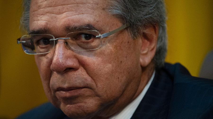 6.set.2019 - Ministro da Economia, Paulo Guedes - Mauro Pimentel/AFP