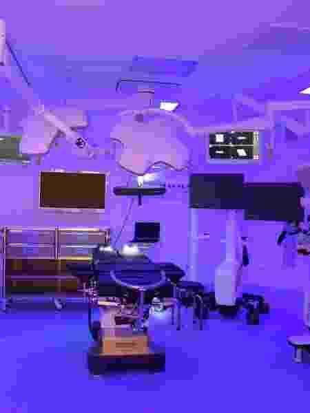 Centro cirúrgico do hospital Vila Nova Star, onde Bolsonaro será operado - Divulgação