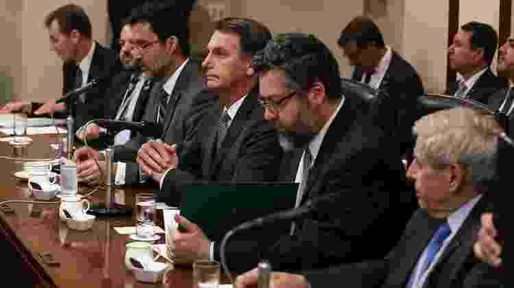 Bolsonaro durante visita ao Japão, em turnê pela Ásia; em campanha, ele chegou a dizer que 'a China não compra no Brasil. A China está comprando o Brasil' - José Dias/PR