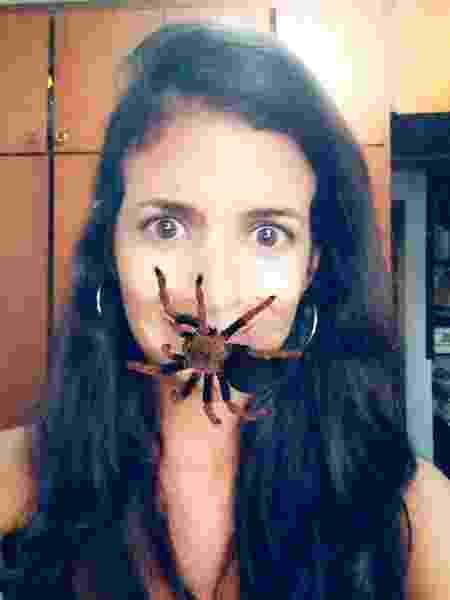Quem tem medo de aranha aí? - Reprodução