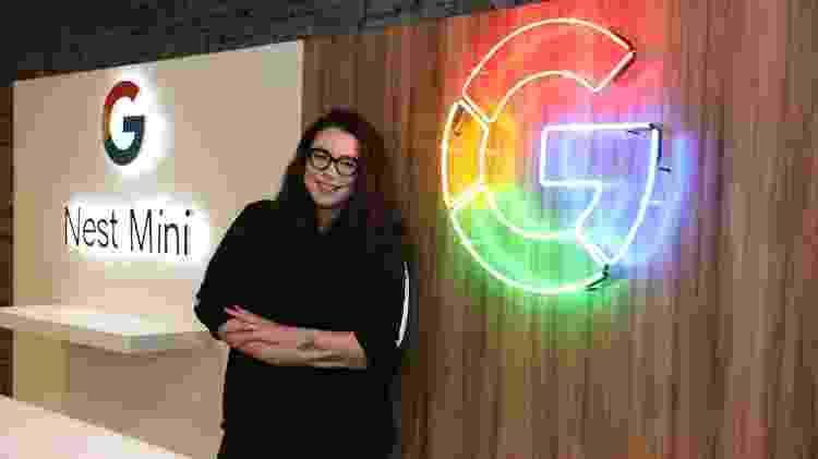 Larissa Rinaldi, especialista em linguística do Google - Divulgação/Google
