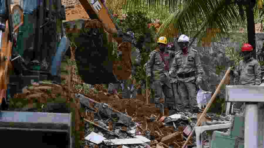 Bebê de 2 meses e criança de 8 anos estão entre os mortos em deslizamento no Recife - Carlos Ezequiel Vannoni/Agência Pixel Press/Estadão Conteúdo