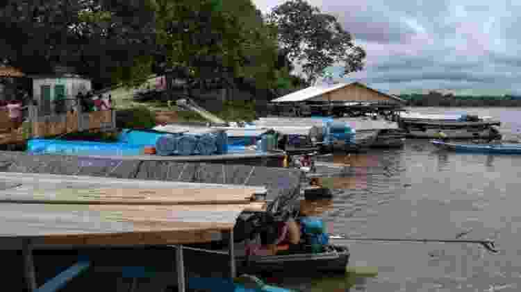 Viagens em canoas costumam durar entre sete e dez dias - Jorge Marubo/Divulgação/DSEI Vale do Javari - Jorge Marubo/Divulgação/DSEI Vale do Javari