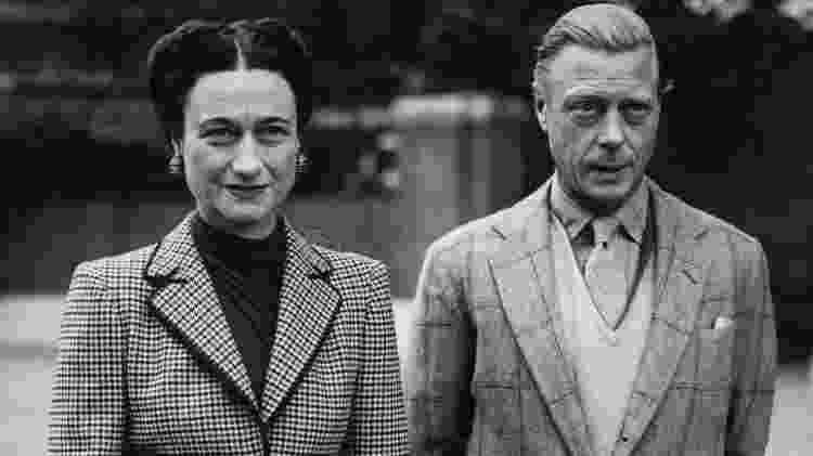 Wallis e Edward viveram história de amor, mas que não durou muito tempo - Getty Images