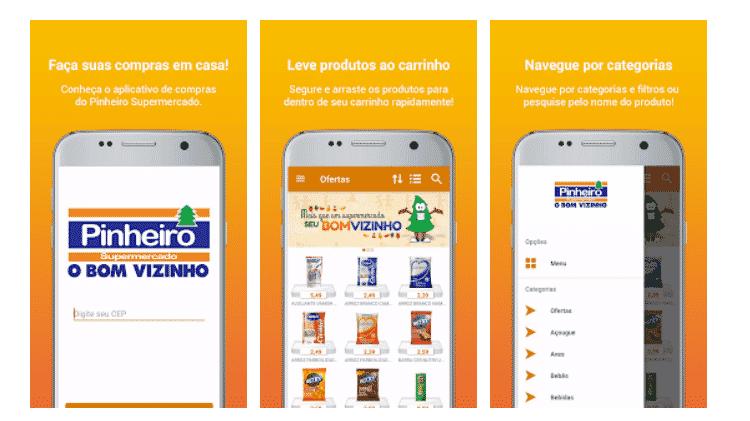 Supermercado Pinheiro - Reprodução - Reprodução