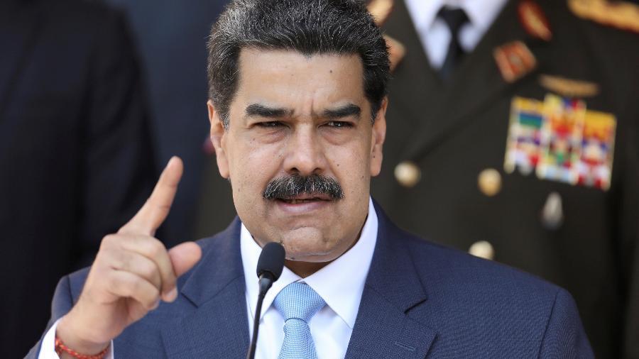 O presidente da Venezuela, Nicolás Maduro -