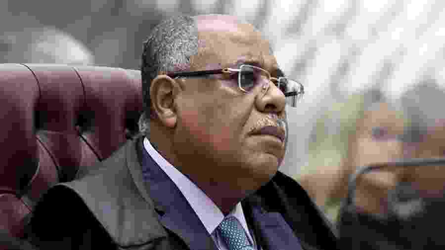 O ministro Benedito Gonçalves participa de sessão do STJ (Superior Tribunal de Justiça) - Gustavo Lima/STJ/Divulgação