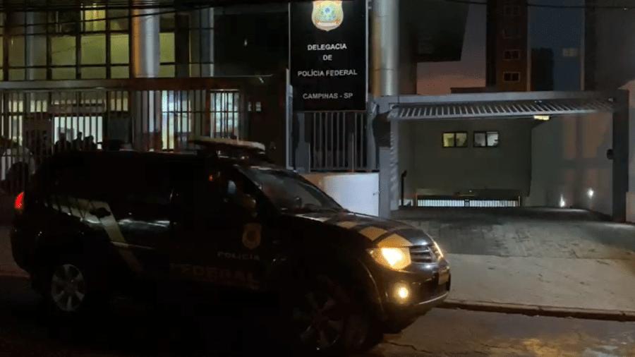Polícia Federal deflagra operação para apurar fraudes milionárias em comércio de combustíveis - Divulgação/Polícia Federal