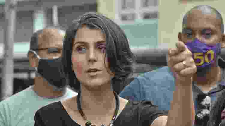 A candidata do PC do B à Prefeitura de Porto Alegre, Manuela D'Ávila - José Carlos Daves/Agência F8/Estadão Conteúdo - José Carlos Daves/Agência F8/Estadão Conteúdo