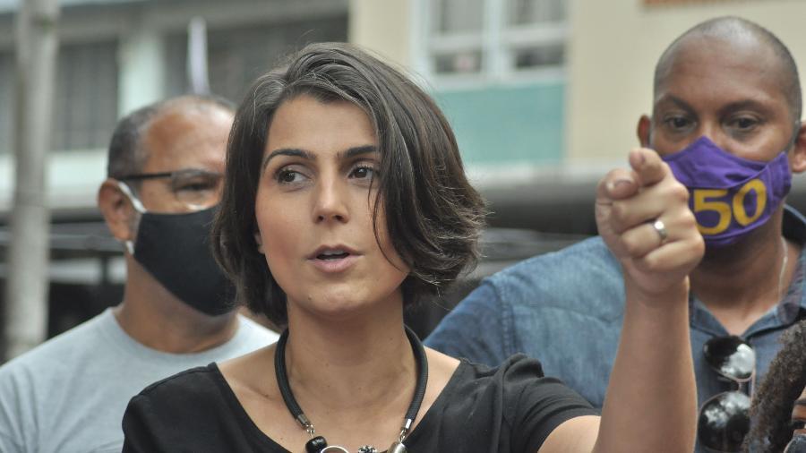 """Manuela d""""Ávila lamentou saída de Flávio Dino do PCdoB - José Carlos Daves/Agência F8/Estadão Conteúdo"""