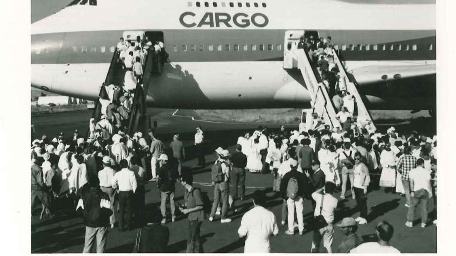 Boeing 747 tem o recorde de maior número de passageiros em um único voo: 1.088 pessoas - Reprodução