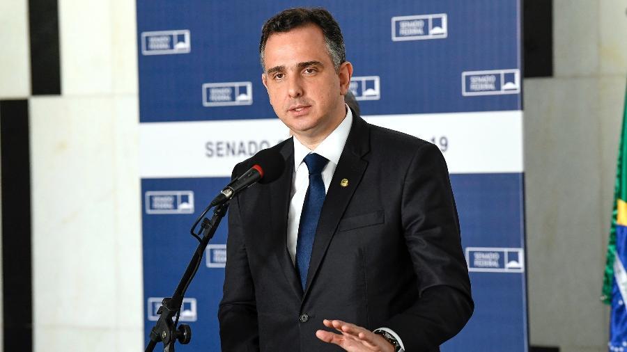 Primeira reunião da CPI será presencial para eleição de presidente, diz Pacheco - Jefferson Rudy/Agência Senado