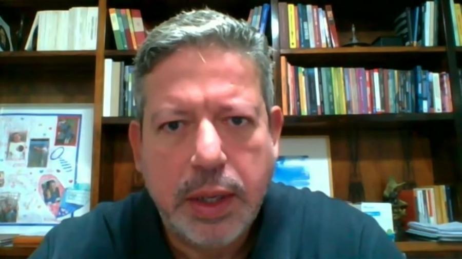 O presidente da Câmara, Arthur Lira (PP-AL), em entrevista na manhã de hoje - Reprodução/YouTube/Jovem Pan