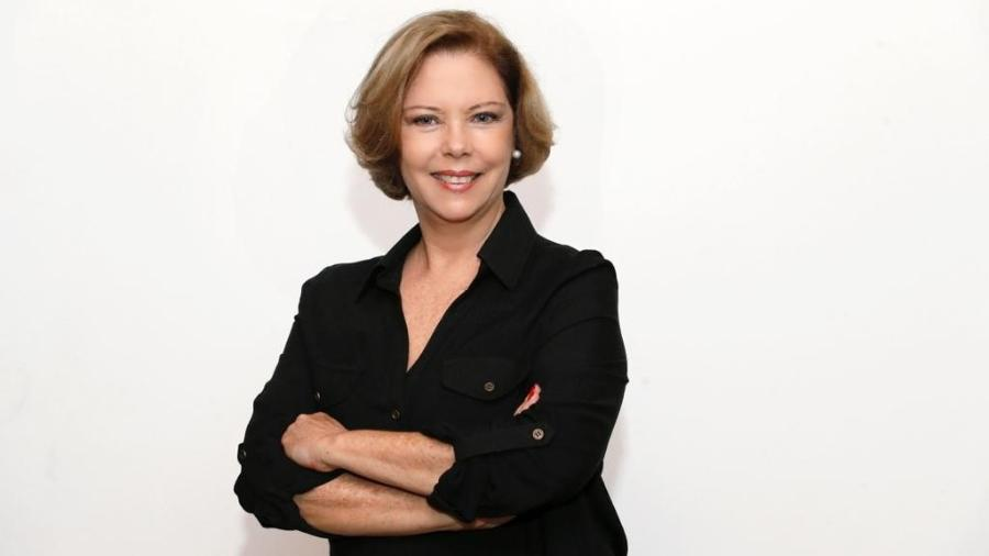 A jornalista Eliane Cantanhêde - Divulgação