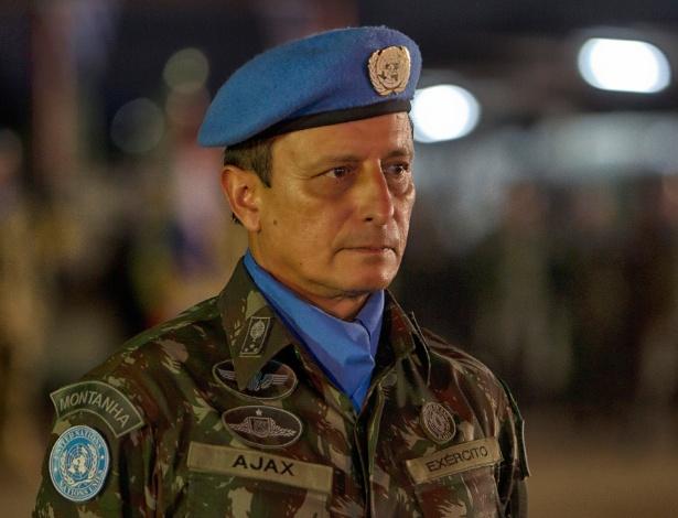 O general brasileiro Ajax Porto Pinheiro é o responsável pela Missão de Paz no Haiti