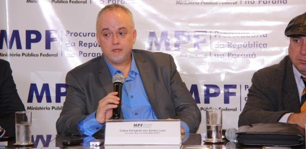 O procurador da República Carlos Fernando dos Santos Lima, integrante da força-tarefa da operação Lava Jato