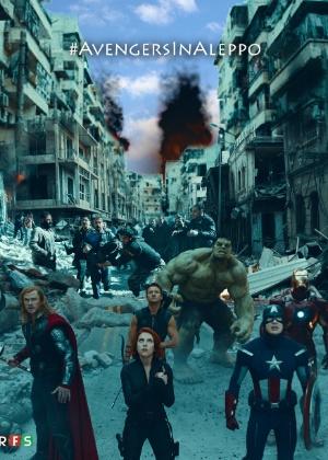 Imagem da campanha das Forças Revolucionárias da Síria