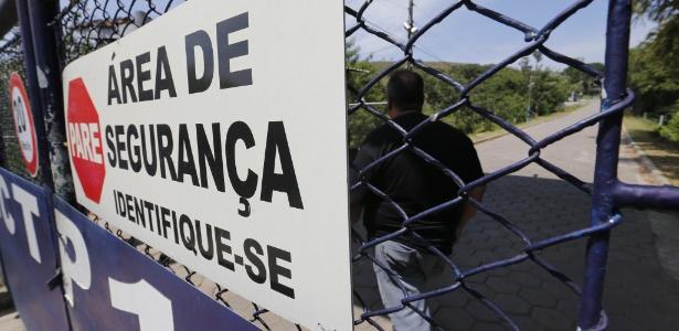 Movimentação em frente ao presídio de Franco da Rocha
