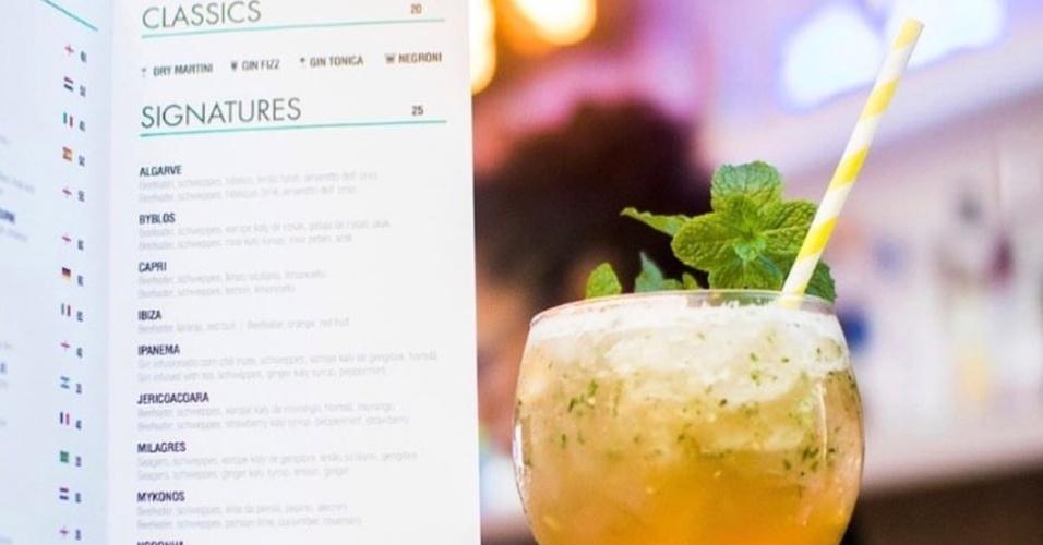 G&T Bar coquetel Ipanema