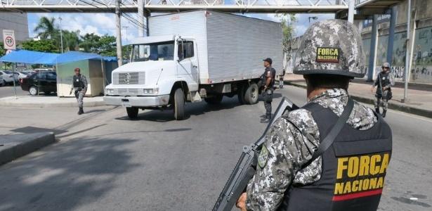 Agente da Força Nacional participa de operação de combate ao roubo de cargas
