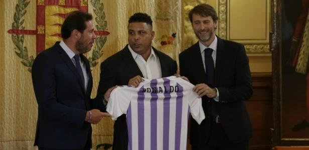Ronaldo é apresentado no Valladolid após adquirir ações do clube - Reprodução/Twitter