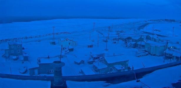 Os pouco mais de 4 mil moradores de Utqiagvik, no Alasca, vão passar cerca de dois meses sem ver o sol