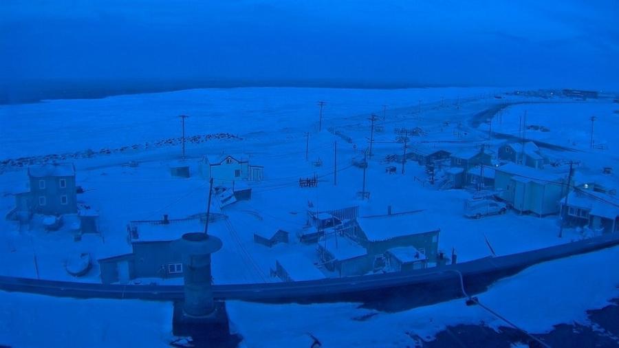 Os pouco mais de 4 mil moradores de Utqiagvik, no Alasca, vão passar cerca de dois meses sem ver o sol - University of Alaska Fairbanks