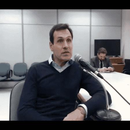 """Mariano Ferraz denunciou o ex-presidente do Senado, que """"nega veementemente"""" as afirmações do réu - Reprodução/JFPR"""