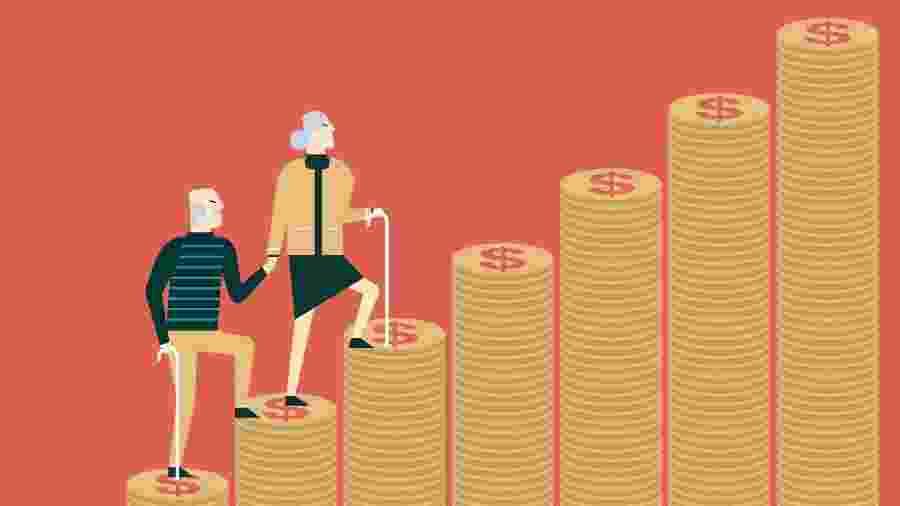 Aposentadorias e pensões ganham importância na renda familiar - Getty Images