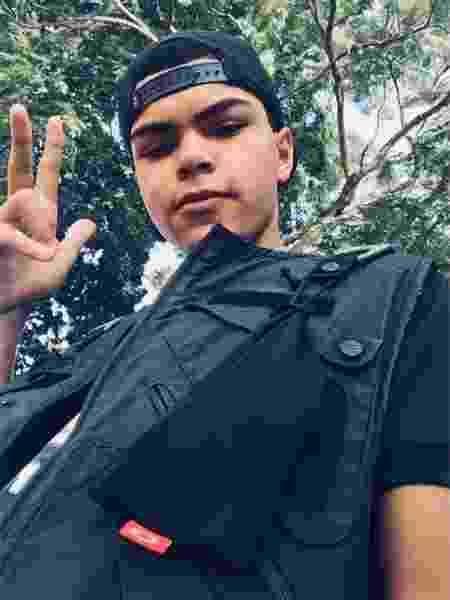 24.jun.2019 - Victor é morto a tiros por causa de discussão por pipa - Reprodução/Facebook
