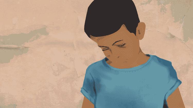 Juan tentou por duas vezes migrar sozinho para o Brasil, fugindo da miséria na Venezuela e das agressões dos pais - CECILIA TROMBESI/BBC