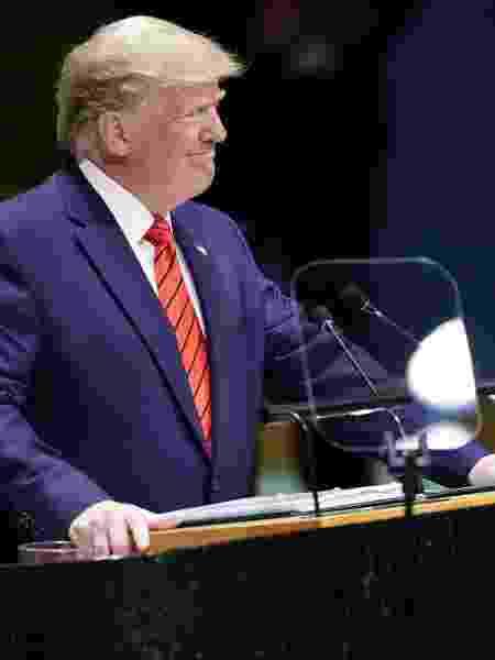 Presidente dos Estados Unidos é investigado por pedido de investigação contra o democrata Joe Biden - Carlo Allegri/Reuters