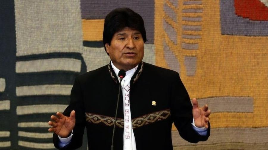 Evo Morales disputa o quarto mandato como presidente da Bolívia - Agência Brasil