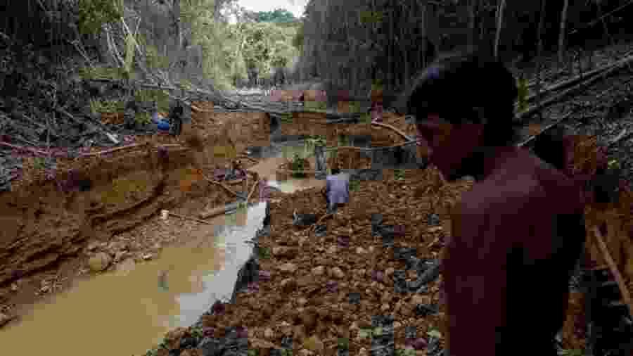 Garimpo ilegal na Amazônia - Reuters