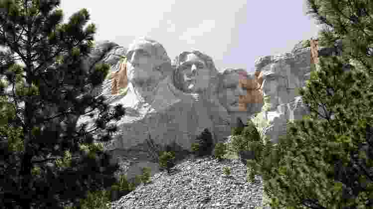 O Monumento Nacional do Monte Rushmore  - Getty Images - Getty Images