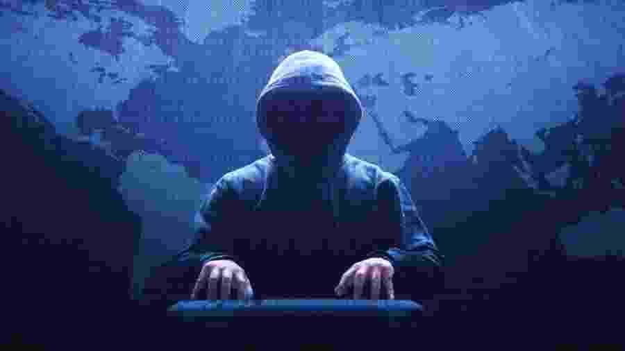 """Turchin usava o apelido de Fxmsp como seu nome de usuário na internet, mas também era conhecido como """"o deus invisível"""" das redes.  - Getty Images"""