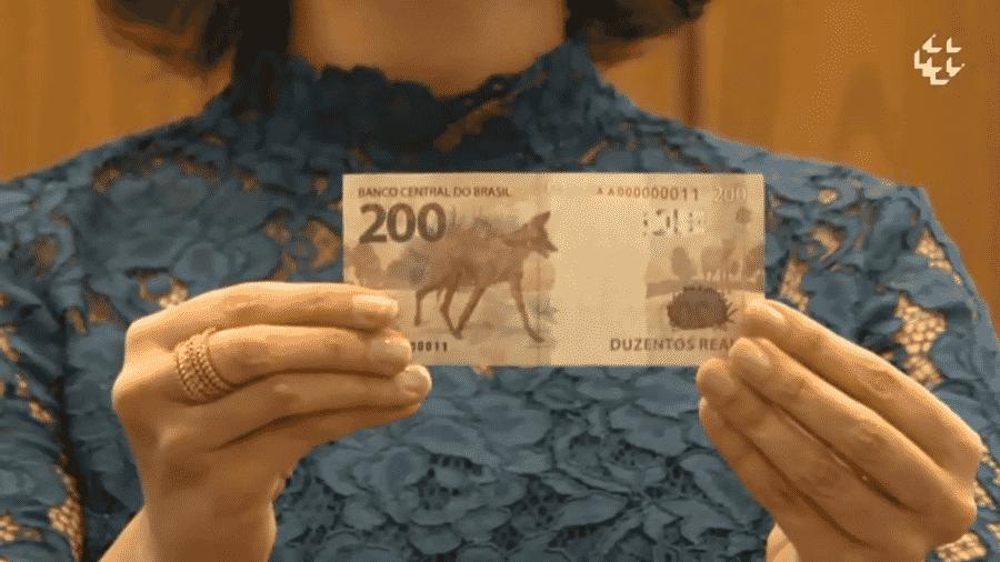 Em Curitiba, mulher encontrou duas notas de R$ 200 e pagou boleto que estava junto - Reprodução/Banco Central
