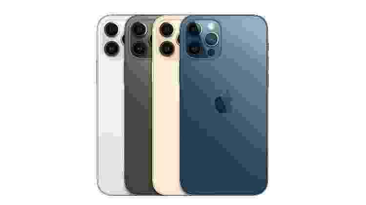 iPhone 12 Pro traz quatro cores - Divulgação - Divulgação