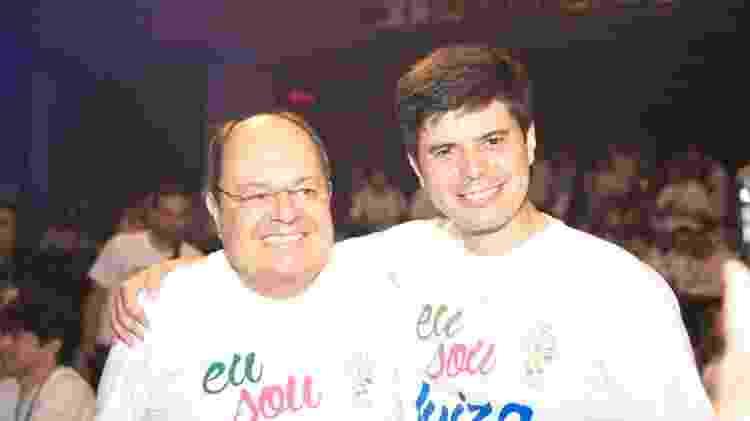 Marcelo Silva, vice-presidente do conselho do Magazine Luiza, e Fred Trajano, principal executivo da empresa - Arquivo pessoal - Arquivo pessoal