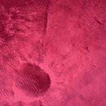 O Perseverance pousou na cratera Jezero, de 40km de diâmetro e 500m de profundidade - Divulgação/Nasa