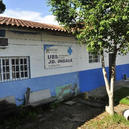 A UBS de Indaiá, em Bertioga, onde o idoso foi vacinado de forma errada - Divulgação/Prefeitura de Bertioga
