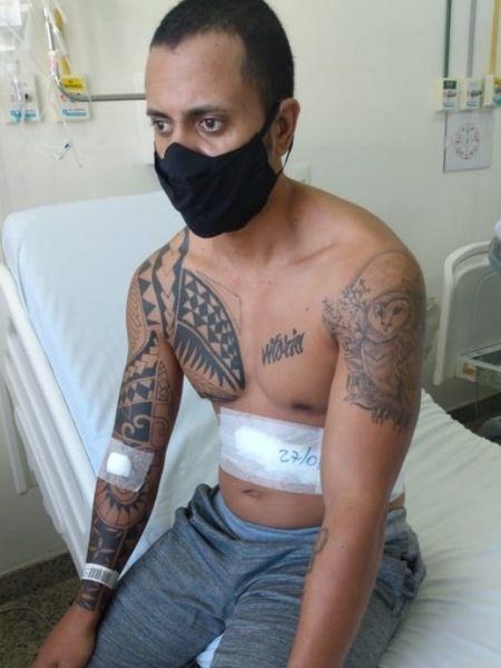 Felipe Moreira dos Santos tem cirurgia de remoção do baço marcada para junho - Arquivo pessoal - Arquivo pessoal