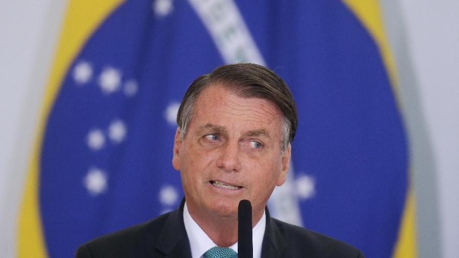 15.set.21 - O presidente Jair Bolsonaro  em cerimônia do Programa Casa Verde e Amarela no Paolácio do Planalto - DIDA SAMPAIO/ESTADÃO CONTEÚDO