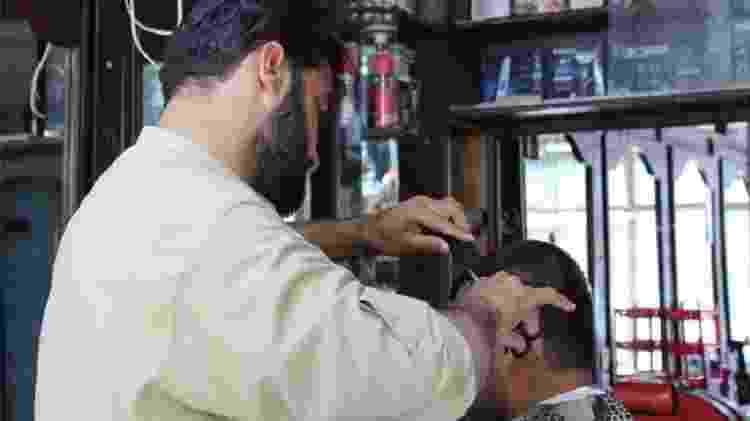 Cenas como essa não devem mais ser vistas no Afeganistão com as novas regras impostas pelo Talibã - Getty Images - Getty Images